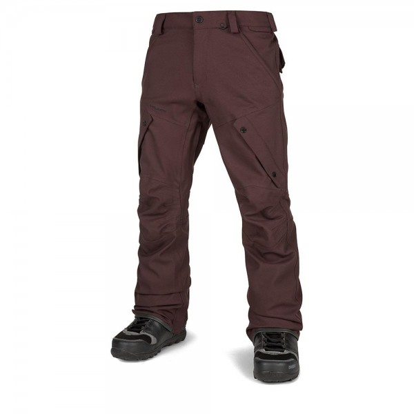 Volcom Articulated black red 2021 pantalón de snowboard