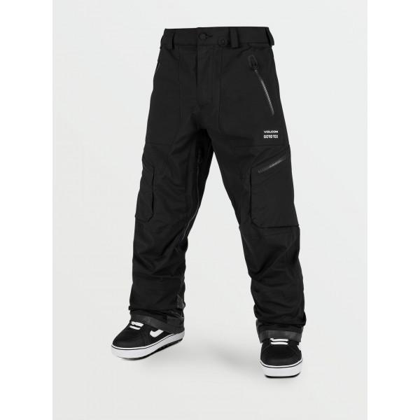 Volcom Guch stretch gore-tex black 2021 pantalón de snowboard