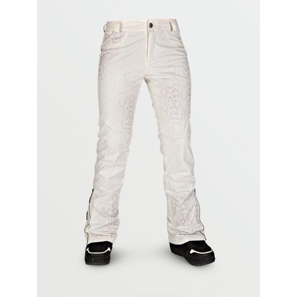 Volcom Battle Stretch bone snake 2021 pantalón de snowboard de mujer