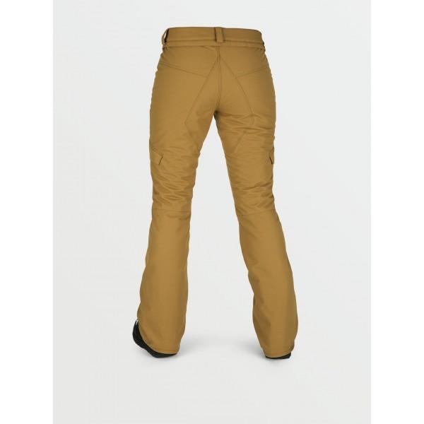 Volcom Bridger insulated khaki 2021 pantalon de snowboard de mujer