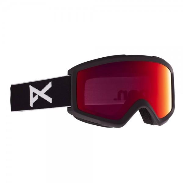 Anon Helix perceive black sunny red 2021 gafas de snowboard
