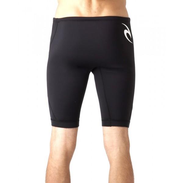 Rip Curl Dawn patrol 1mm black 2020 pantalón corto de neopreno