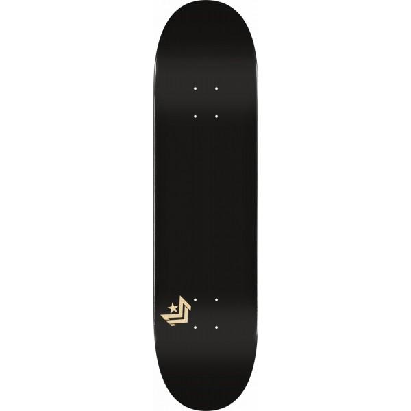 Minilogo Chevron 8'' Black Tabla de skate