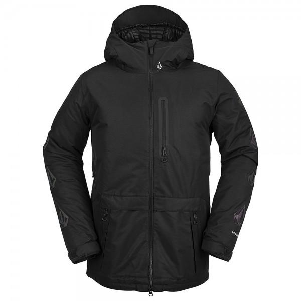Volcom Deadly stones black 2021 chaqueta de snowboard