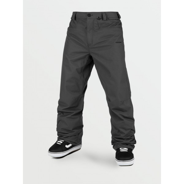 Volcom Carbon dark grey 2021 pantalón de snowboard