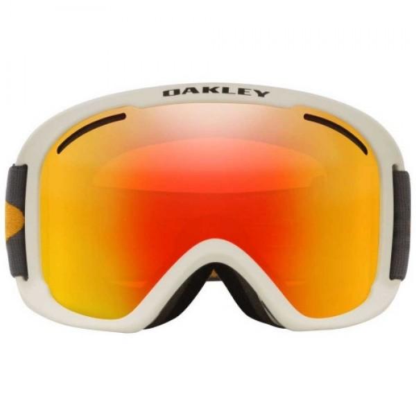 Oakley O frame Pro XL dark grey orange w fire iridium 2021 gafas de snowboard