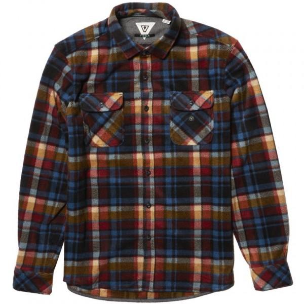 Vissla Eco-Zy polar flannel  black 2021 camisa