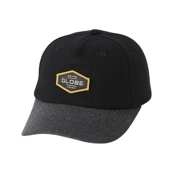 Globe Established black grey 2021 gorra