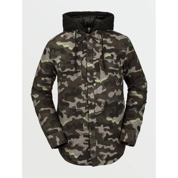 Volcom Field Ins army 2021 camisa