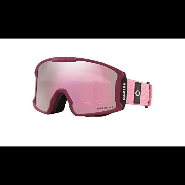 Oakley Line Miner XM Heathered grenache rubine Prizm hi pink 2021 gafas de snowboard