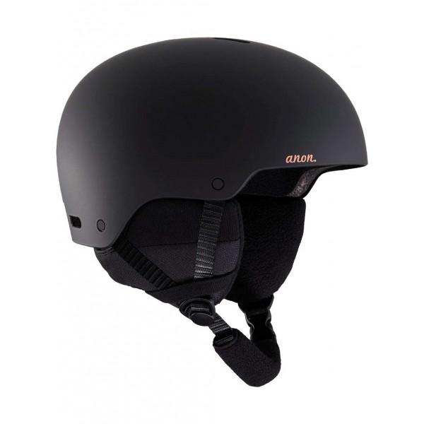 Anon Greta black 2021 casco de snowboard de mujer