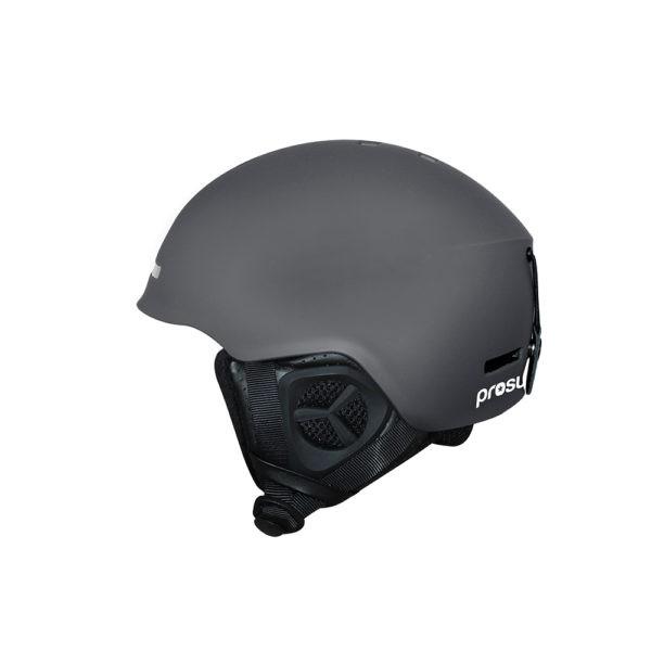 Prosurf Unicolor Mat grey 2021 casco de snowboard y skate