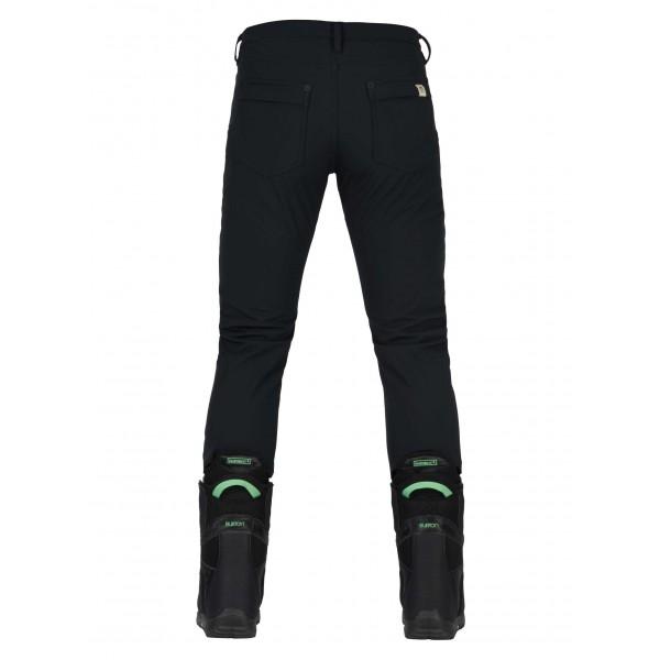burton ivy negro 2018 pantalón de snowboard de mujer