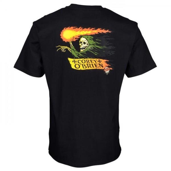 Santa Cruz  O´Brien Ripper black 2021 camiseta