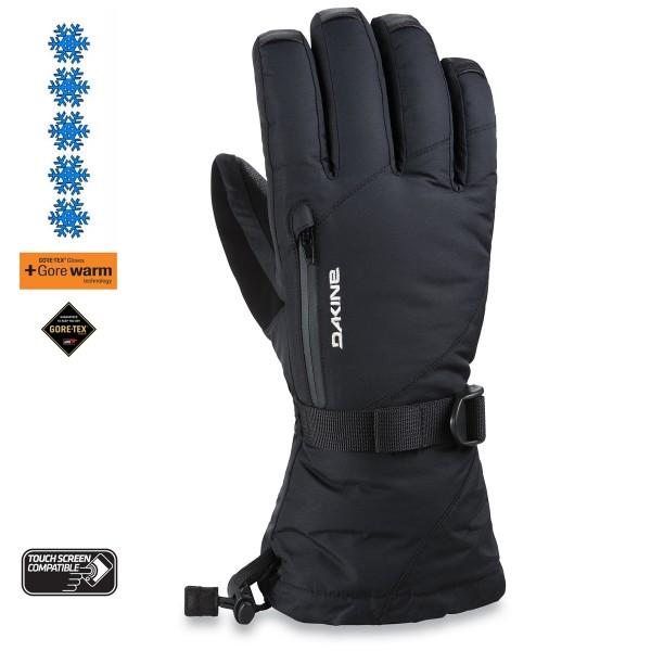 Dakine Leather Sequoia Gore-tex black 2021 guantes de snowboard de mujer