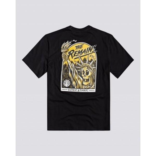 Element Liberty black 2021 camiseta