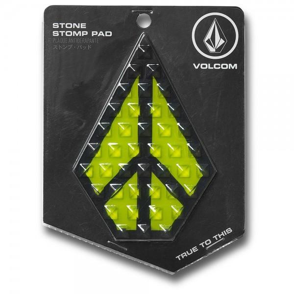 Volcom stone stomp lime pad