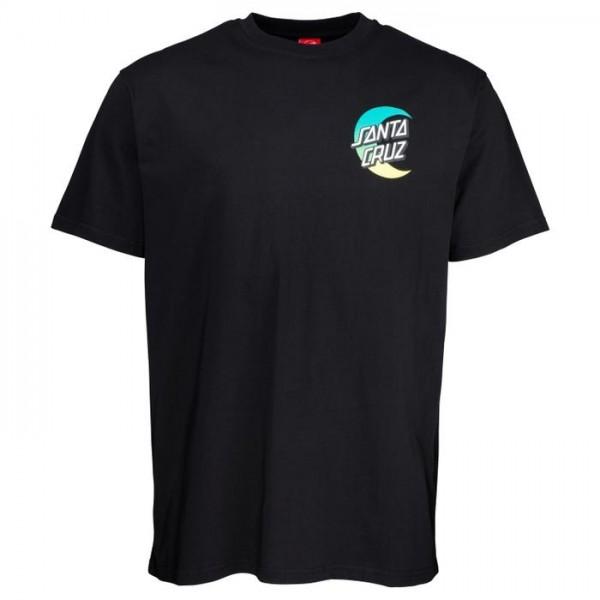 Santa Cruz Moon Dot Fade black 2021 camiseta