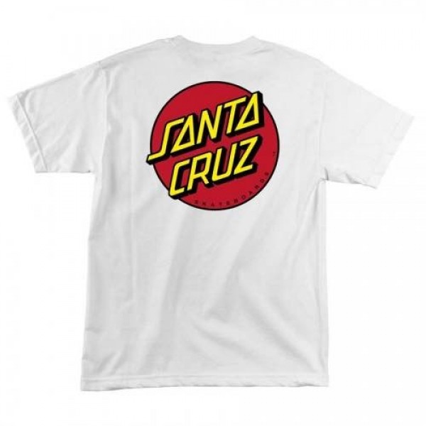 Santa Cruz Classic dot mustard 2020 camiseta de niño