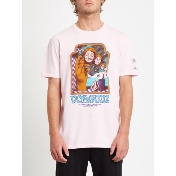 Volcom Max Loeffler snow pink 2021 camiseta