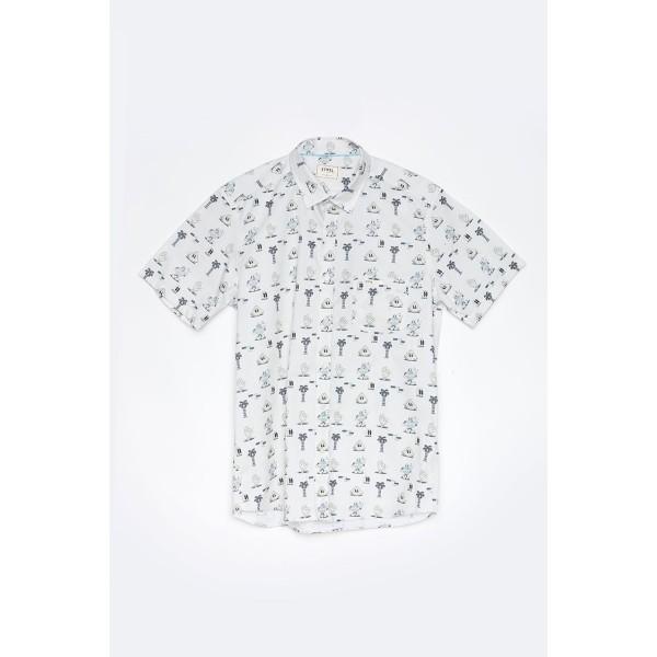 Tiwel Mells by Yeye Weller white 2020 camisa