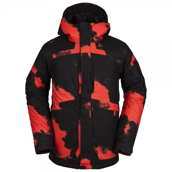 Volcom Scortch magma smoke 2021 chaqueta de snowboard