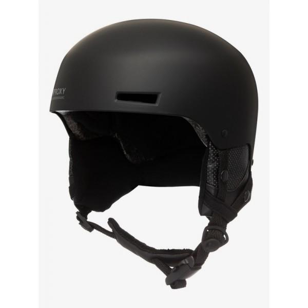 Roxy Muse bte kvj black 2021 casco de snowboard de mujer