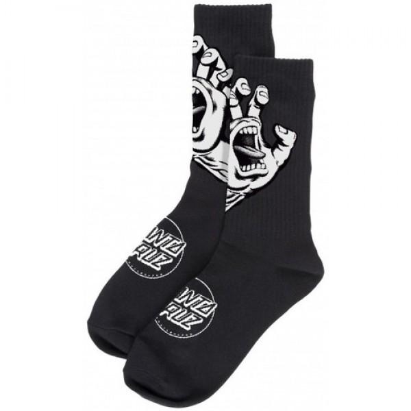 Santa Cruz Screaming hand black calcetines