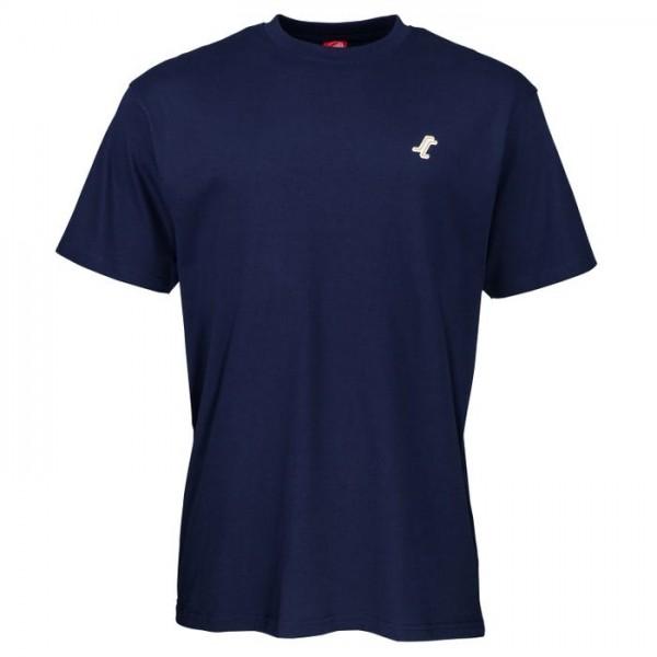 Santa Cruz Missing dot navy 2021 camiseta
