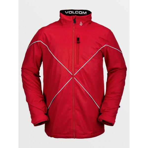 Volcom No Hood X red 2021 chaqueta de snowboard