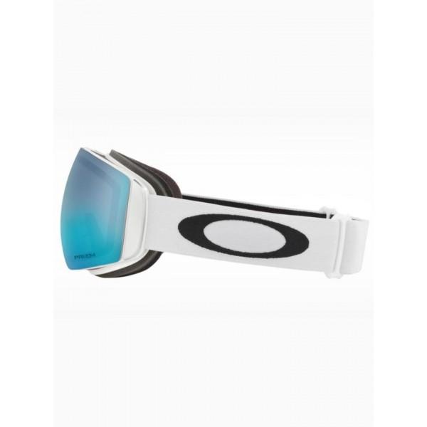 Oakley Flight Deck XM Matte white prizm sapphire 2021 gafas de snowboard