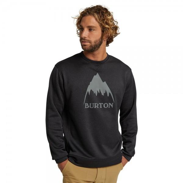 Burton Oak crew black 2021 sudadera técnica de snowboard
