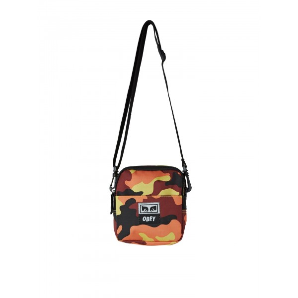 Obey Drop out traveller bag orange bandolera