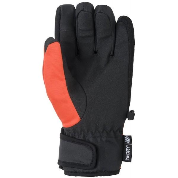 686 Ruckus pipe solar orange 2021 guantes de snowboard