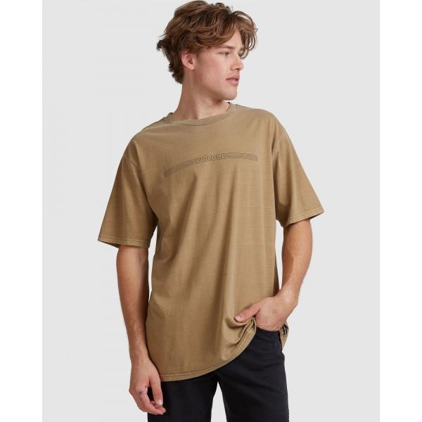 Volcom Paralevel sand dune 2021 camiseta