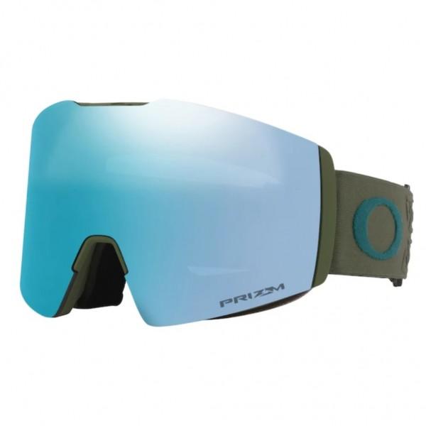 Oakley Fall Line XL prizm icon dark green prizm sapphire 2021 gafas de snowboard