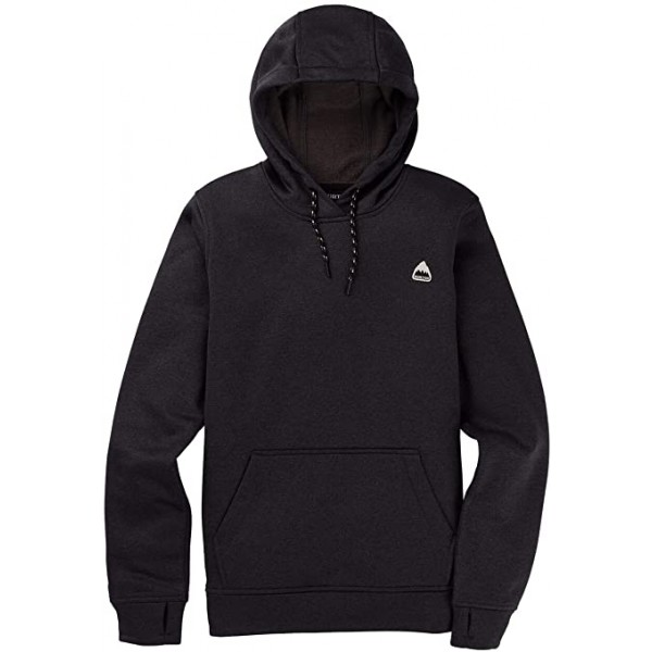 Burton Oak pullover true black 2021 sudadera técnica de mujer