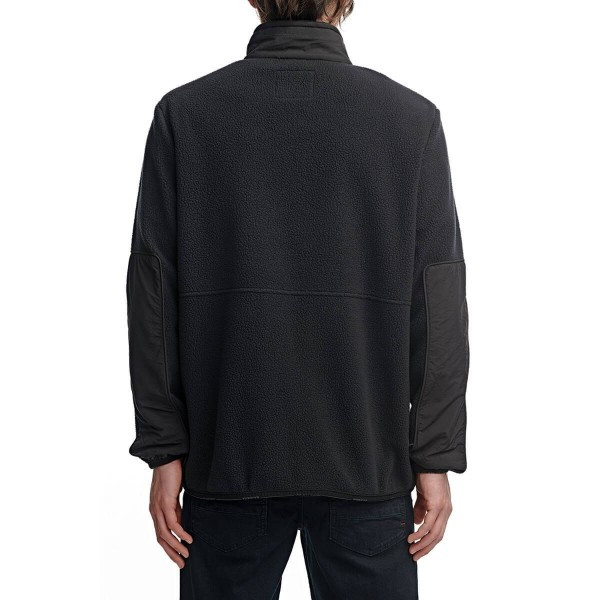 Globe Polartec zip thru black 2021 sudadera