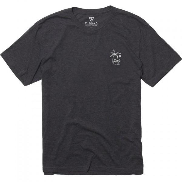 Vissla Porveyors black heather 2021 camiseta