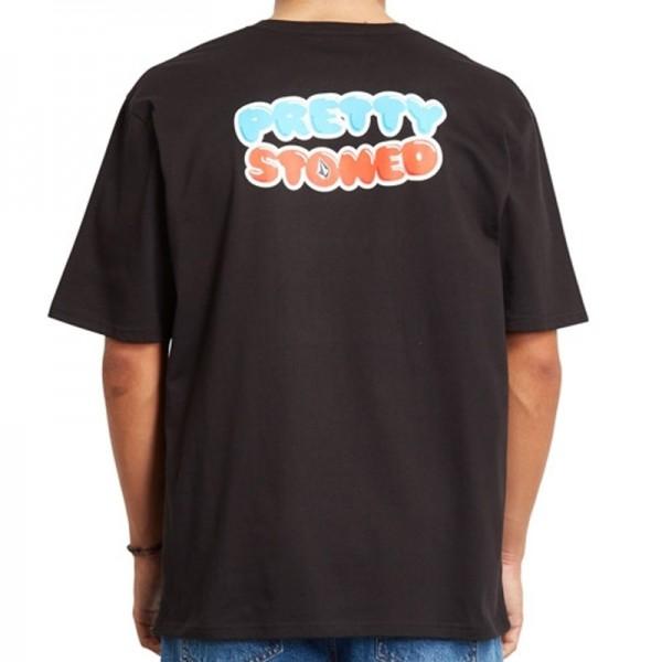 Volcom X Girl skateboards Pretty stoned black 2021 camiseta