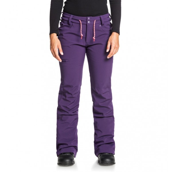 Dc Viva softshell grape psd 2021 pantalon de snowboard de mujer