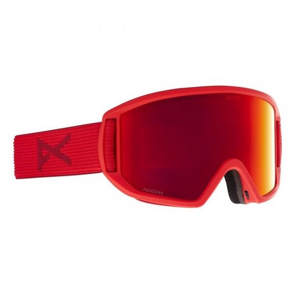 Anon Relapse MFI red perceive sunny red 2021 gafas de snowboard