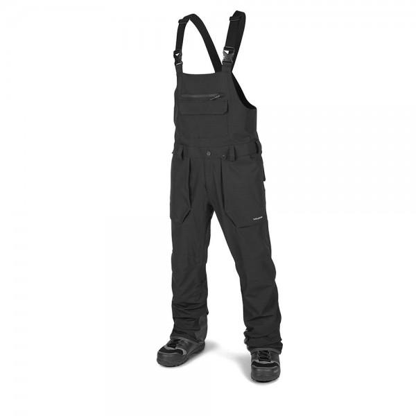 Volcom Roan Bib overall black 2021 pantalón de snowboard