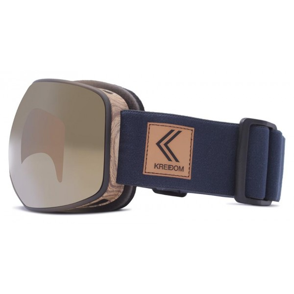 Kredom Rover wood navy copper 2019 gafas de snowboard