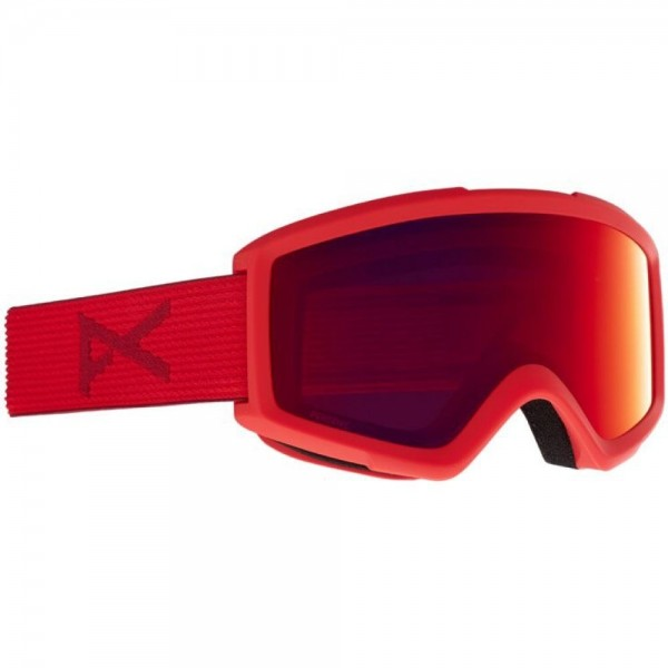Anon Helix perceive red sunny red 2021 gafas de snowboard