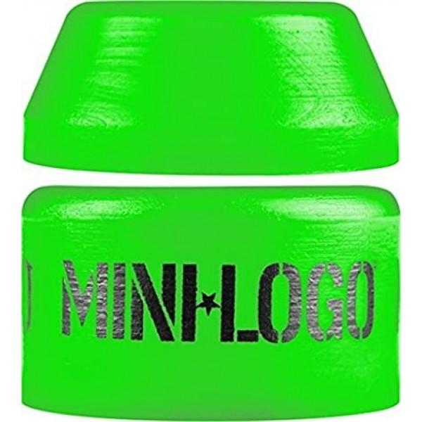 Mini logo soft green bushings