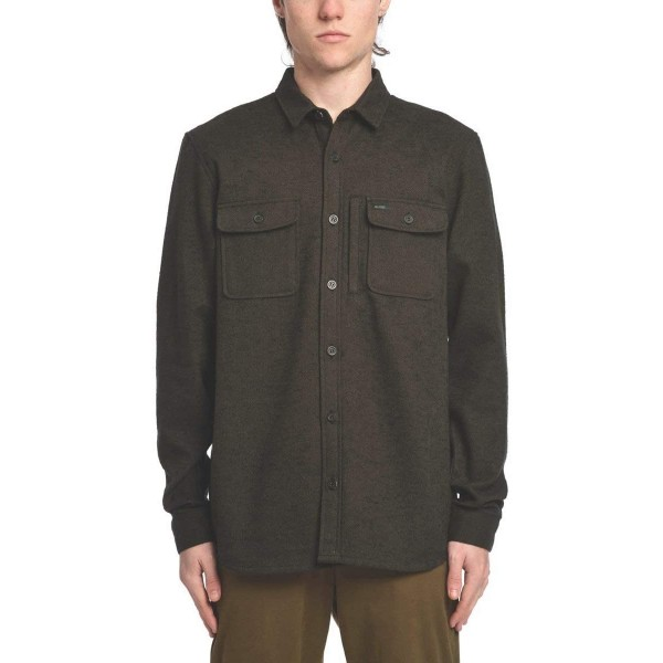 Globe Clifton Solid field green 2021 camisa