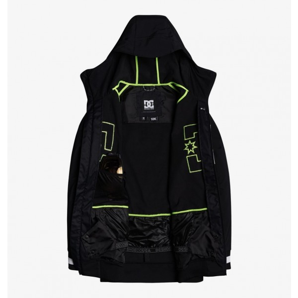Dc Spectrum black kvj0 2021 chaqueta de snowboard