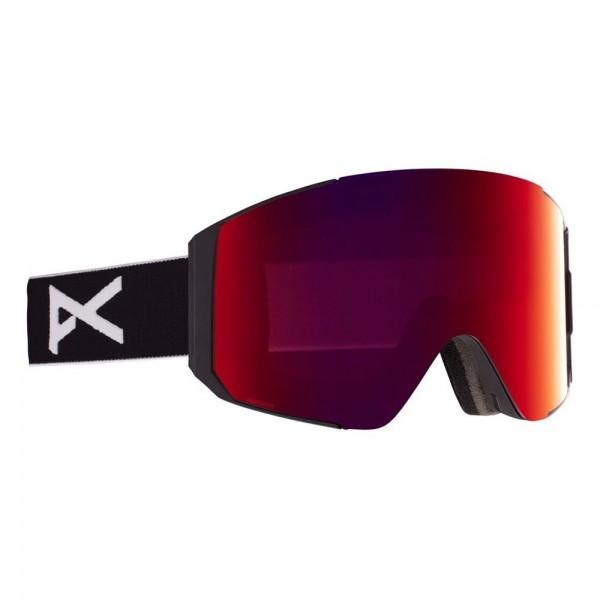 Anon Sync black perceive sunny red 2021 gafas de snowboard