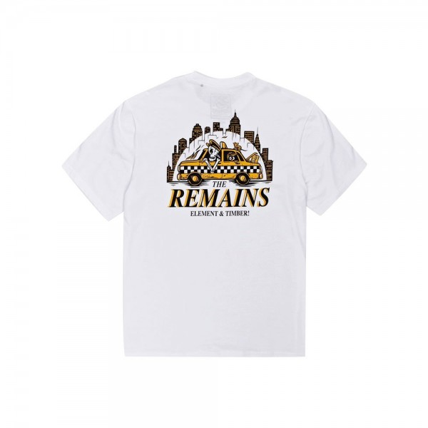 Element The Remains taxi driver white 2021 camiseta